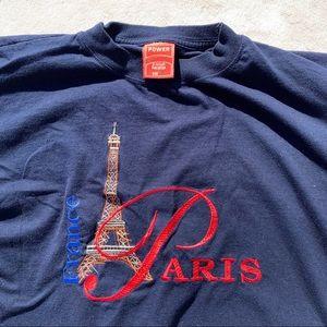 Tops - vintage france paris shirt